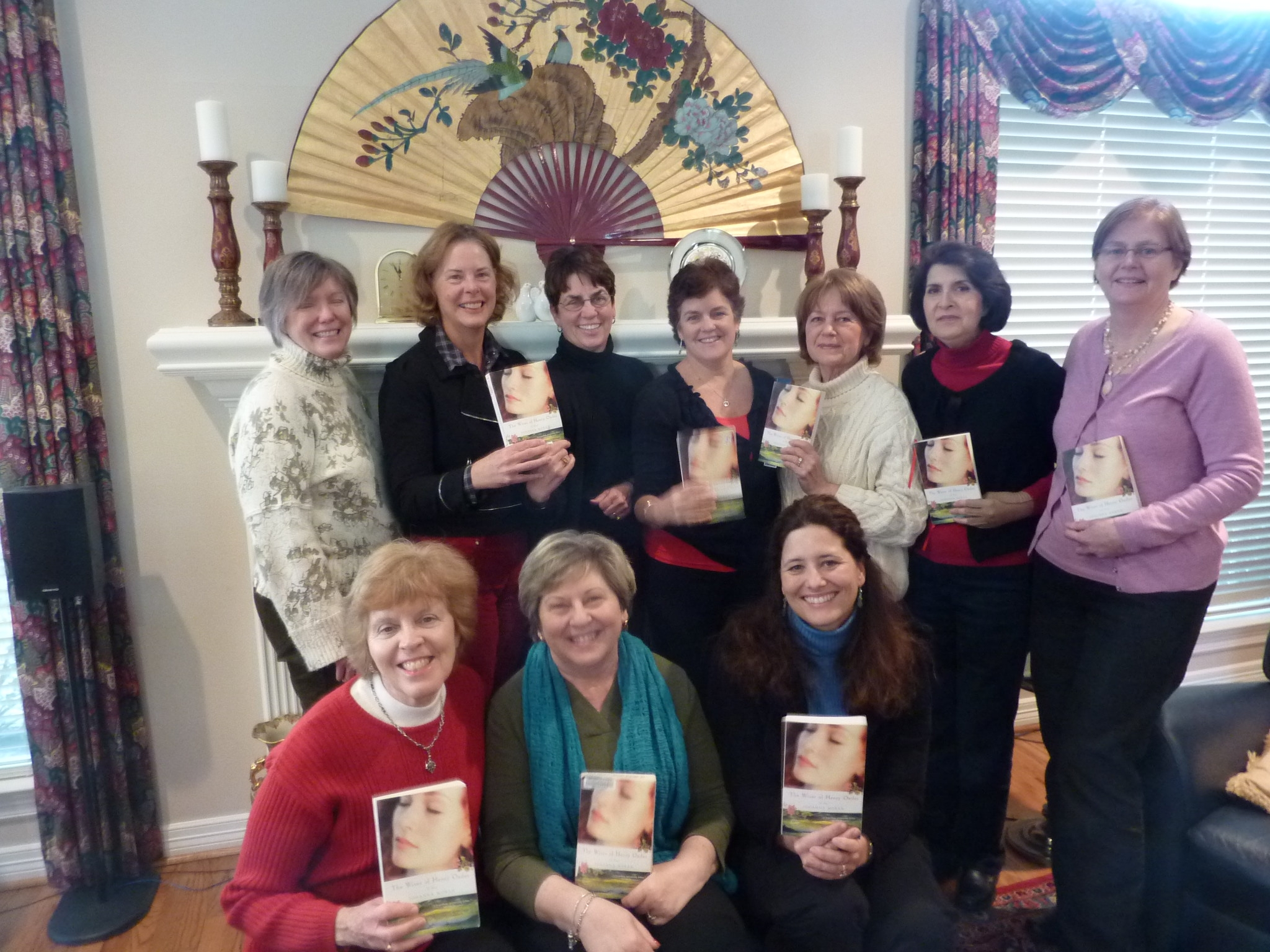 "HOUSTON BOOK CLUB READING ""WIVES"""