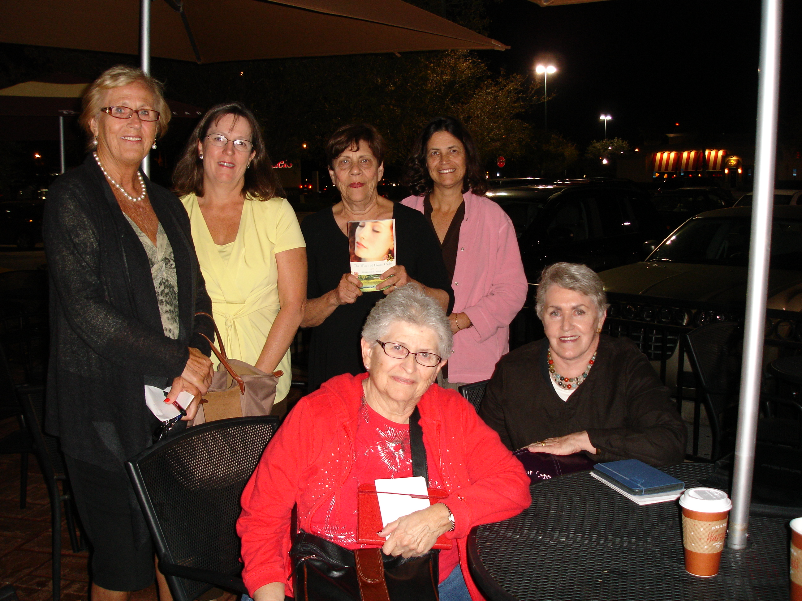 "M&M BOOK CLUB READING ""WIVES"" IN TAMPA"