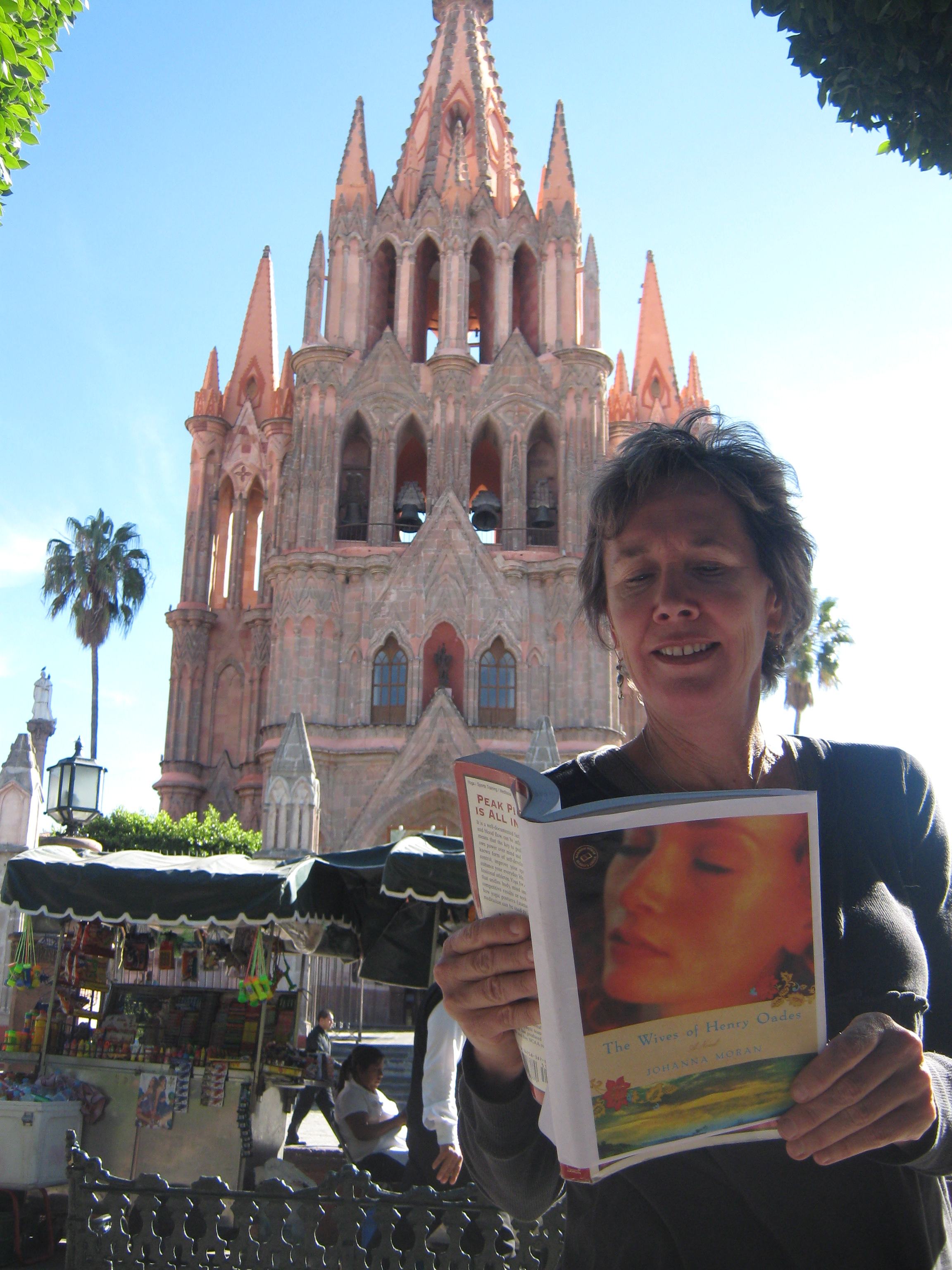 "READING ""WIVES"" AT SAN MIGUEL ALLENDE"